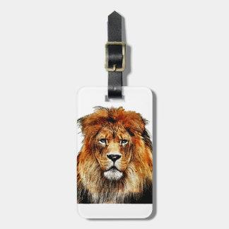 Afrikanischer Löwe Kofferanhänger