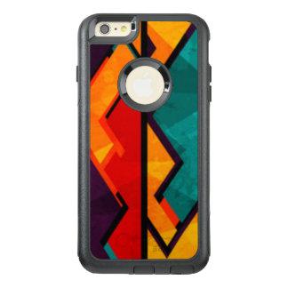 Afrikanischer mehrfarbiger Muster-Druck-Entwurf OtterBox iPhone 6/6s Plus Hülle