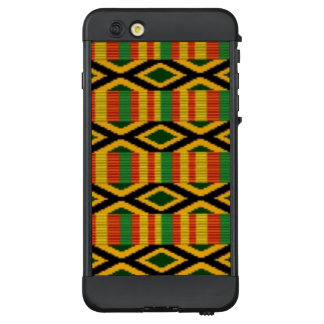 Afrikanischer multi Farbmuster-Druck-Entwurf LifeProof NÜÜD iPhone 6 Plus Hülle