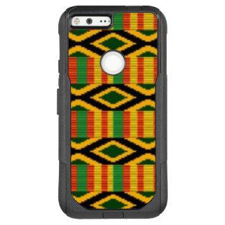 Afrikanischer multi Farbmuster-Druck-Entwurf OtterBox Commuter Google Pixel XL Hülle