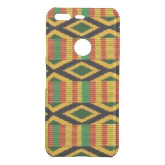 Afrikanischer multi Farbmuster-Druck-Entwurf Uncommon Google Pixel Hülle