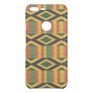 Afrikanischer multi Farbmuster-Druck-Entwurf Uncommon Google Pixel XL Hülle
