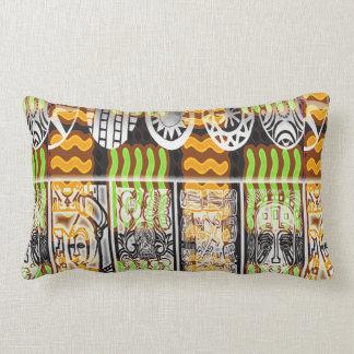 Afrikanischer Muster-Entwurf Kissen