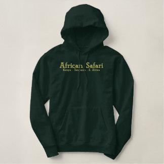 Afrikanischer Safari-Armee-Grün-Schweiß Hoodie
