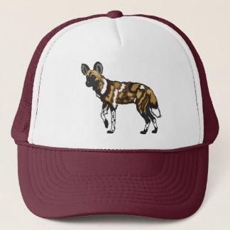 afrikanischer wilder Hund Truckerkappe