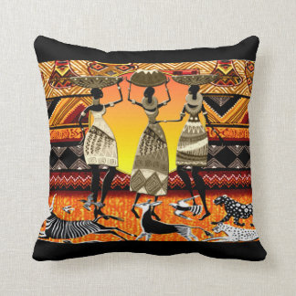 Afrikanisches Fest Kissen