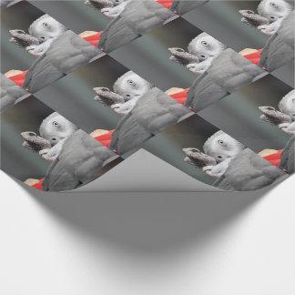 Afrikanisches Grau-Papagei Geschenkpapier