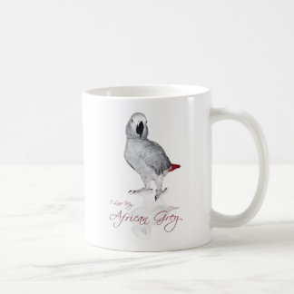 Afrikanisches Grau-Papagei Kaffeetasse