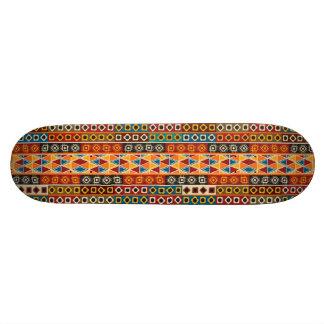 Afrikanisches Motiv-bunter dekorativer Personalisiertes Skatedeck