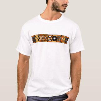 Afrikanisches Muster T-Shirt