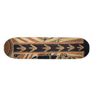 Afrikanisches Skateboard Skateboard Brett