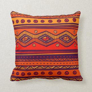 Afrikanisches Stammes- Muster-Wohngestaltungkissen Kissen