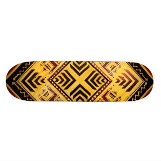 Afrikanisches Stammes- Skateboard 19,7 Cm Skateboard Deck
