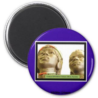 AfriMex Urbano Kwanzaa Reihe 2 Runder Magnet 5,1 Cm
