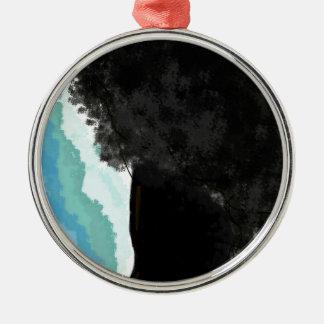 Afriwom Silbernes Ornament