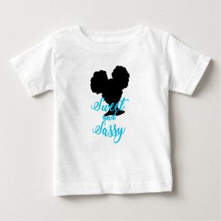 Afro stößt | süßes und freches | natürliches Haar Baby T-shirt