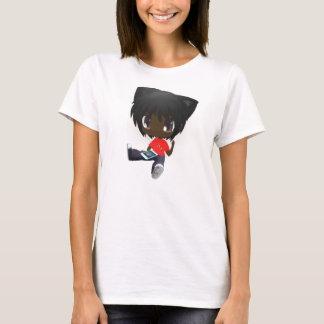 Afroamerikaner Darly mit iPod T-Shirt