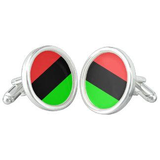 Afroamerikaner-Flagge Manschetten Knöpfe