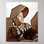 Afroamerikaner-Frauen-Patrioten