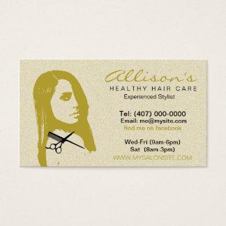 Afroamerikaner-Friseursalon-Visitenkarten 003 Visitenkarte