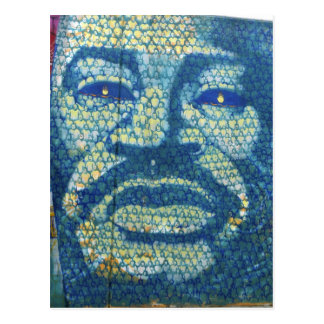 Afroamerikaner-Mann Postkarte