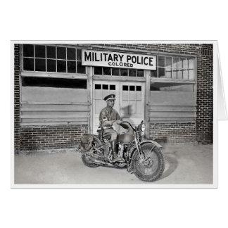 Afroamerikaner-Militärpolizei Karte