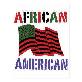 Afroamerikaner Postkarte