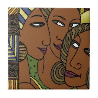 Afroamerikanerfrauen-Schwesterfreunde Keramikfliese