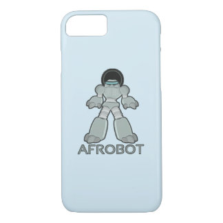 Afrobot - Roboter mit Afro iPhone 8/7 Hülle