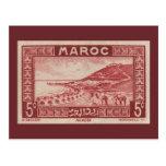 Agadir, Marokko - Postkarte