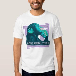 AGAINST ANIMAL TESTING - 02m T Shirts