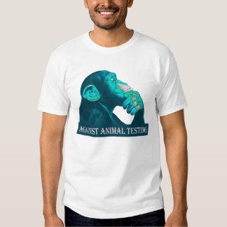 AGAINST ANIMAL TESTING - 03m T-Shirts