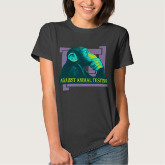 AGAINST ANIMAL TESTING - 03w Shirt