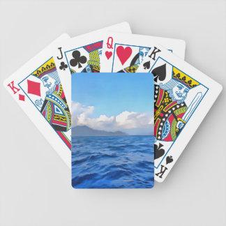 Ägäisches Blau Bicycle Spielkarten