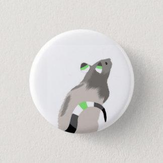Agender Ratten-Knopf Runder Button 3,2 Cm