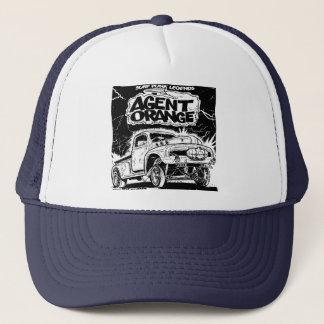 "Agent-orange ""Ratten-Rod-"" Skate-Punk-Hut Truckerkappe"