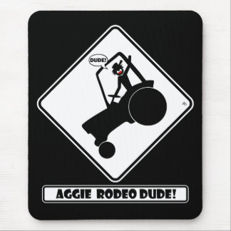AGGIE RODEO w1 Mousepads