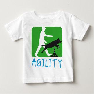 Agility dog sport baby t-shirt