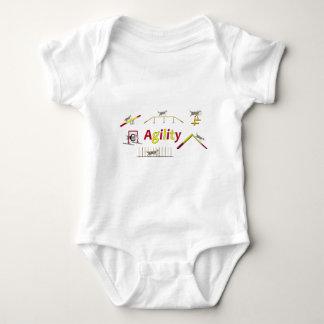Agility mit Schrift Baby Strampler