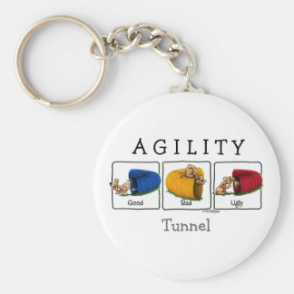 Agility-Tunnel GBU keychain Schlüsselanhänger