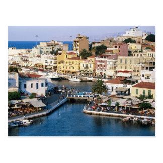 Agios Nikolaos Kreta, Griechenland Postkarte