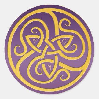 AGK Logo Runder Aufkleber