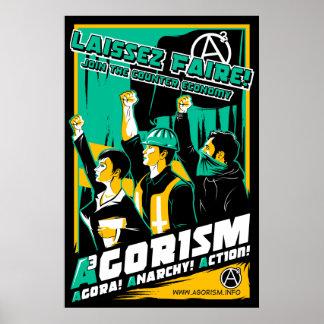 Agorism Propaganda-Plakat Poster