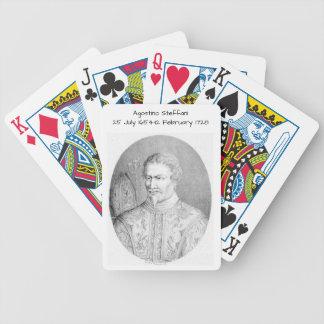 Agostino Steffani Bicycle Spielkarten
