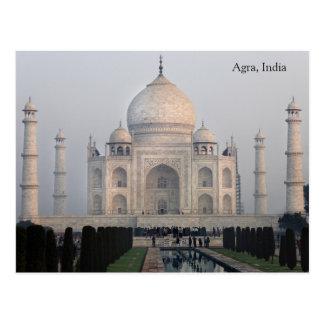 Agra, Indien Postkarte