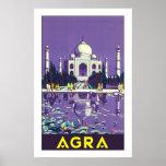 Agra ~ Taj Mahal Plakate