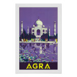 Agra ~ Taj Mahal Poster