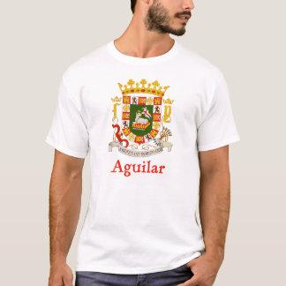 Aguilar Schild von Puerto Rico T-Shirt