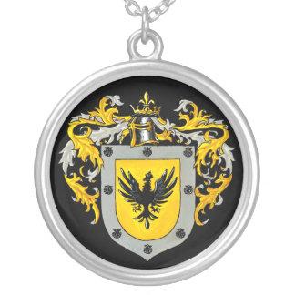 Aguilera Wappen Versilberte Kette