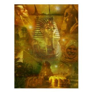 Ägypten - eine Schönheit des Mittlere Ostens Postkarte